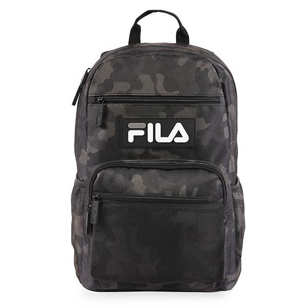 FILA™ Vermont Backpack - Small Black Camo