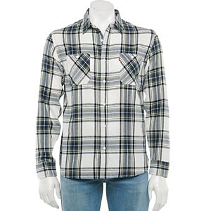 Men's Levi's Button-Down Flannel Shirt