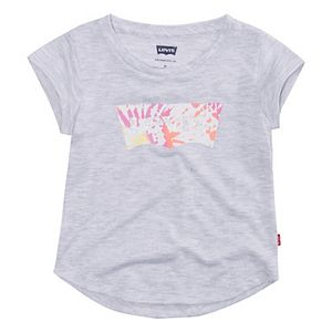 Toddler Girl Levi's® Logo Tee