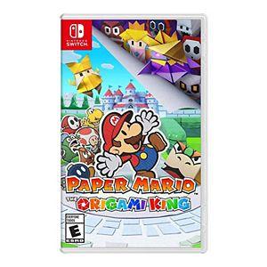 Paper Mario: The Origami King Game & Super Mario Traveler Slim Case for Nintendo Switch