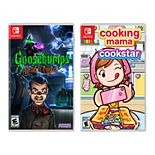 Goosebumps: Dead of Night + Cooking Mama Cookstar for Nintendo Switch Game Bundle