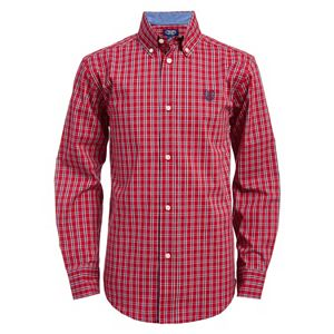 Boys 820 Chaps Plaid Button Down Shirt