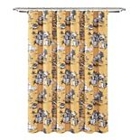 Lush Decor French Country Toile Shower Curtain