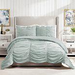 Modern Heirloom Emily Textured Comforter Set with Shams