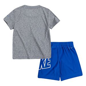 Baby Boy Nike Dri-FIT Logo Tee & Shorts Set
