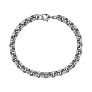 AXL by Triton Stainless Steel Rolo Chain Bracelet - Men