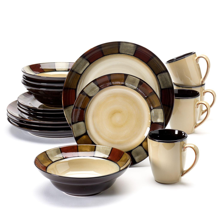 Sale  sc 1 st  Kohlu0027s & SONOMA Goods for Life™ Vallejo 16-pc. Dinnerware Set