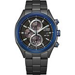 Citizen Eco-Drive Men's Black Dial Chronograph Watch