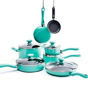GreenLife Ceramic 12-pc. Nonstick Cookware Set