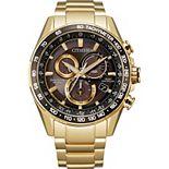 Citizen Men's Eco PCAT Gold Tone Watch