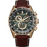 Citizen Men's Eco PCAT Brown Strap Watch