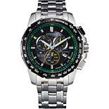 Citizen Men's Eco Promaster Silver Tone Watch