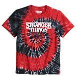 Boys 8-20 Stranger Things Tie-Dye Tee