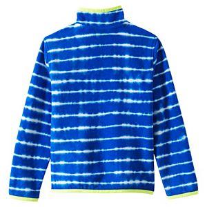 Lands' End Kids 4-20 Fleece Snap Neck Pullover