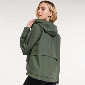 Women's FLX Hooded Short Packable Jacket