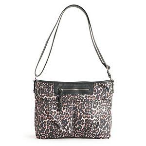 Rosetti Cheetah Print Delta Crossbody Bag