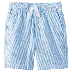 Boys 8-20 Lands' End Pull On Seersucker Shorts in Slim