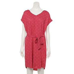 Petite Sonoma Goods For Life® Dolman Sleeve Dress