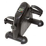 Wakeman 80-5129 Portable Fitness Pedal Stationary Under Desk Indoor Exercise Easy Cardio Bike