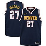 Youth Nike Jamal Murray Navy Denver Nuggets 2020/21 Swingman Jersey - Icon Edition