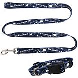 Little Earth Seattle Seahawks Collar and Leash Set