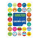I Adulted! Stickers for Grown-Ups