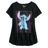 Disney's Lilo & Stitch Girls 7-16 Graphic Tee in Regular & Plus Size