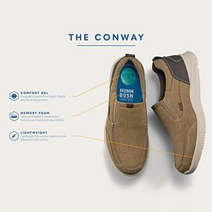 Nunn Bush® Conway Men's Canvas Slip-On Shoes