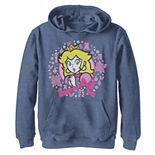 Boys 8-20 Super Mario Bros. Princess Peach Christmas Knit Style Graphic Fleece Hoodie