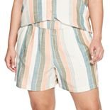 Plus Size Sonoma Goods For Life® Easy Pull-On Shorts