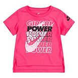 "Toddler Girl Nike ""Girl Power"" High-Low Tee"