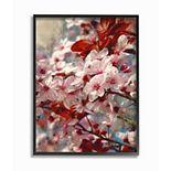 Stupell Home Decor Beautiful Flower Blossoms Framed Wall Art