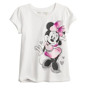 Disney's Minnie Mouse Toddler Girl Shirred Tee by Jumping Beans®
