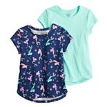 Girls 4-12 Jumping Beans® 2-pack Short-Sleeve Tees