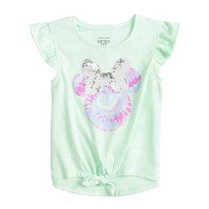 Disney's Minnie Mouse Toddler Girl Adaptive Knot-Front Top by Jumping Beans®