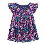 Toddler Girl Jumping Beans® Babydoll Flutter Sleeve Tee