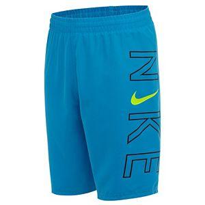 Boys 6-20 Nike Logo Breaker Volley Swim Shorts