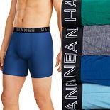 Men's Hanes® 4-pack Ultimate Comfort Flex Fit Total Support Pouch? Boxer Briefs