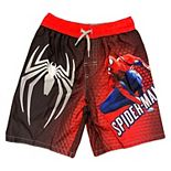 Boys 4-7 Marvel Spiderman Swim Trunks