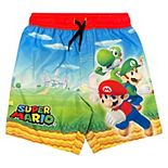 Boys 4-7 Super Mario Brothers Swim Trunks