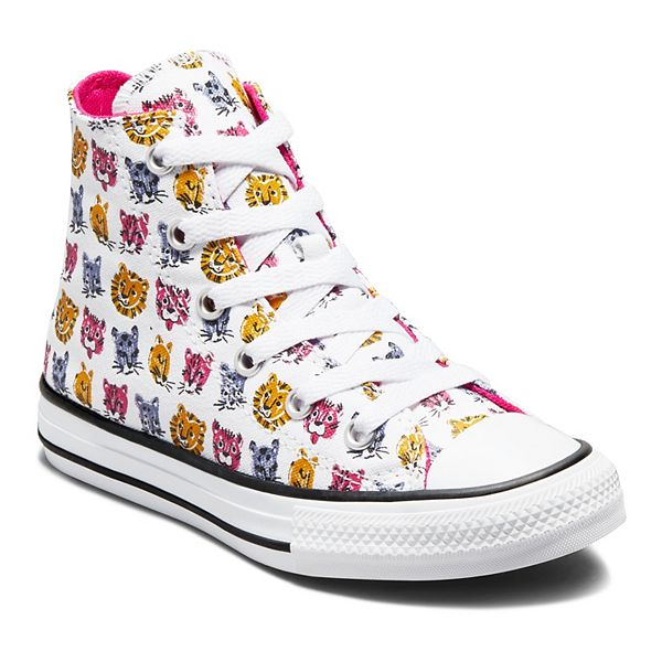 Girls' Converse Chuck Taylor All Star Jungle Cat Graphic OX Sneakers