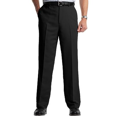 Croft and Barrow Microfiber Flat-Front Dress Pants
