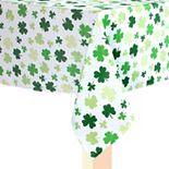 Celebrate St. Patrick's Day Together Shamrock Toss Tablecloth