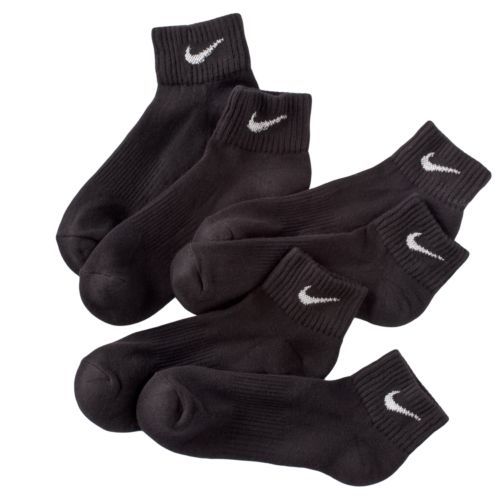 Nike 3-pk. Performance 1/4-Crew Socks