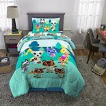 Nintendo's Animal Crossing Gone Camping Comforter