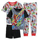 Boys 4-10 Marvel Avengers 4-Piece Pajama Set