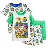 Boys 4-8 Paw Patrol Wild Pups Tops & Shorts Pajama Set