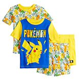 Boys 6-12 Pokemon Poke Time Tops & Shorts Pajama Set