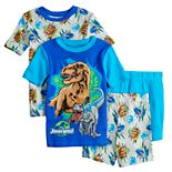Boys 4-10 Jurassic World Dinosaur Roar Tops & Shorts Pajama Set