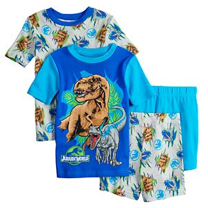 Boys 4-10 Jurassic World Dinosaur Roar Tops & Shorts Pajama Set